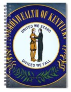 The Great Seal Of The State Of Kentucky  Spiral Notebook