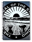 The Great Seal Of The State Of Ohio  Spiral Notebook