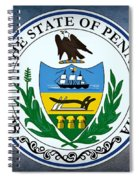 The Great Seal Of The State Of Pennsylvania  Spiral Notebook