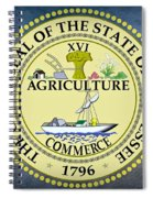The Great Seal Of The State Of Tennessee Spiral Notebook