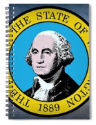 The Great Seal Of The State Of Washington Spiral Notebook