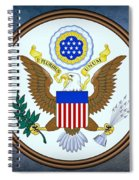 The Great Seal Of The United States  Spiral Notebook