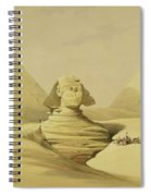 The Great Sphinx And The Pyramids Of Giza Spiral Notebook