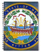 The Great Seal Of The State Of New Hampshire Spiral Notebook