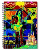 The Great Sun Jester Spiral Notebook