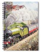 The Green Arrow Spiral Notebook
