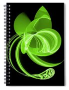 The Green Cat Spiral Notebook