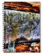 The Green Drinking Glass Onboard Spiral Notebook