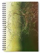 The Green End Of The Spectrum  Spiral Notebook