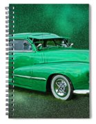 The Green Ghost Spiral Notebook