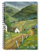 The Green Hills Spiral Notebook
