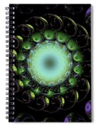 The Green Hole Spiral Notebook