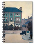 The Green House In St Johns Wood Spiral Notebook