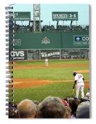 The Green Monster Spiral Notebook