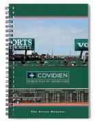 The Green Monster Fenway Park Spiral Notebook