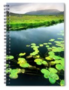 The Green Of Our Land Spiral Notebook