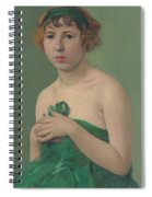 The Green Ribbon Spiral Notebook