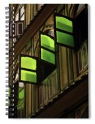 The Green Windows Spiral Notebook