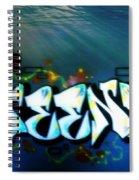 The Greener Side Under Water Spiral Notebook