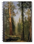 The Grizzly Giant Sequoia Mariposa Grove California Spiral Notebook