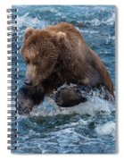 The Grizzly Plunge Spiral Notebook