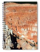 The Grotto At Bryce Canyon Spiral Notebook
