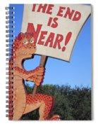 The Grouchy Prophet Spiral Notebook