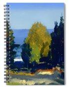 The Grove At Monhegan Spiral Notebook