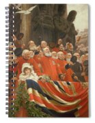 The Guards Cheer, 1898 Spiral Notebook