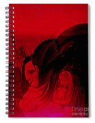 The Guests Arrive Spiral Notebook