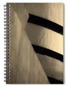 The Guggenheim In Sepia Spiral Notebook