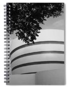 The Guggenheim Museum In Black And White Spiral Notebook