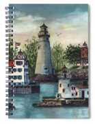 The Guiding Lights Of Ohio Spiral Notebook