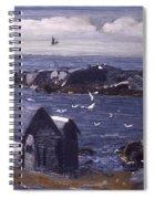 The Gulls Of Monhegan Spiral Notebook