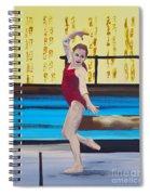 The Gymnast Spiral Notebook