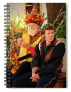 The Gypsy And The Minstrel Spiral Notebook