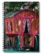 The Gypsy Caravan  Spiral Notebook