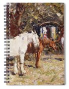 The Gypsy Encampment Spiral Notebook