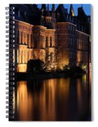 The Hague By Night Spiral Notebook