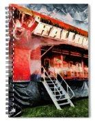 The Halloween Ride Spiral Notebook