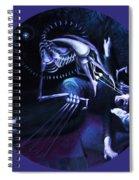 The Hallucinator Spiral Notebook