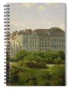 The Hamburg Kunsthalle And The Wallanlagen At The Glockengiesserwal Spiral Notebook
