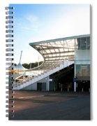 The Hampshire County Cricket Club Pavilion Spiral Notebook