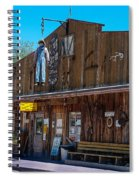 The Hanging - Apache Country Spiral Notebook