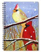 The Happy Couple Spiral Notebook