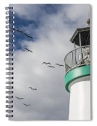 The Harbor Lighthouse Spiral Notebook