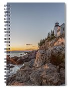 The Harbor Sunset Spiral Notebook