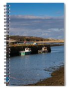 The Harbour At Hayle Cornwall Spiral Notebook