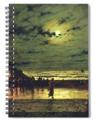 The Harbour Flare Spiral Notebook