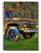 The Hard Headed Ford Work Horses. Spiral Notebook